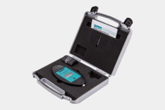 Field strength meter VFM1 A/cm – Case housing VFC1 and test piece